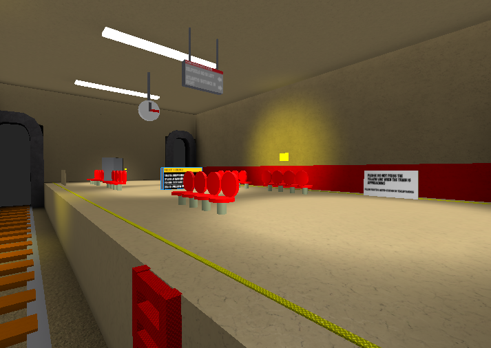 Can be Dev Now? | Metro Station PFS map (NOT FREE MODELS) (Edit)