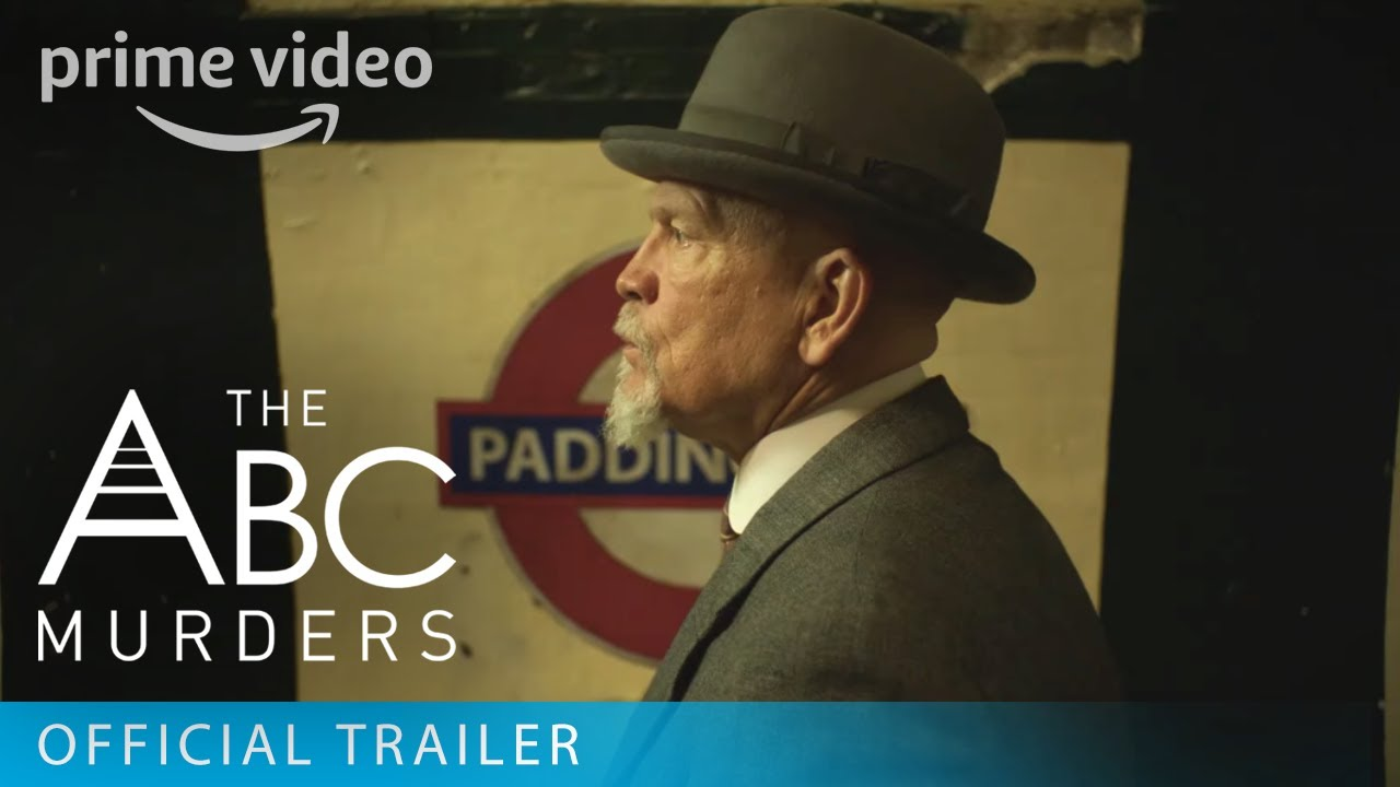 The ABC Murders - Official Trailer   Prime Video