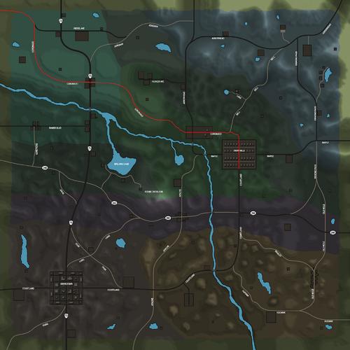 Coronado Rd Map.png