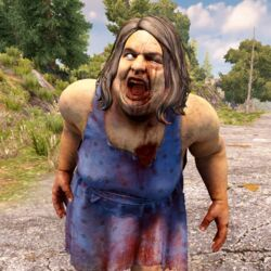 Hungry Female Zombie