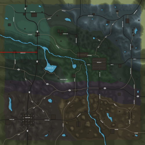 Raner Blvd Map.png