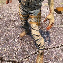 Fallen Soldier Zombie