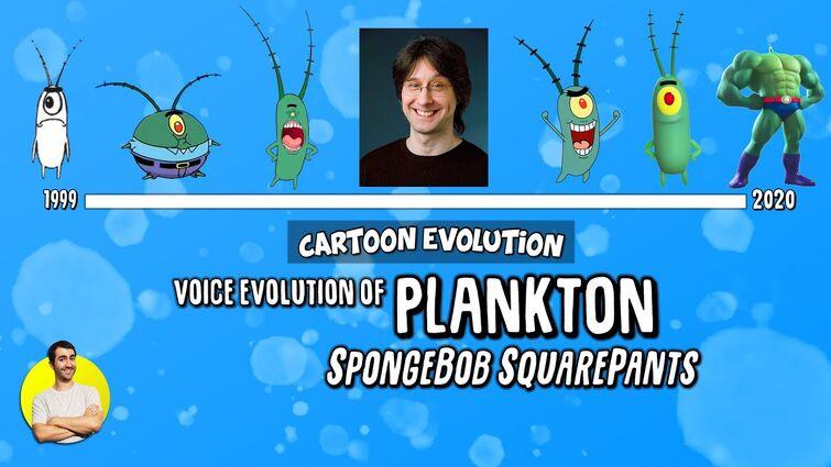 Voice Evolution of PLANKTON (SPONGEBOB) - 21 Years Explained