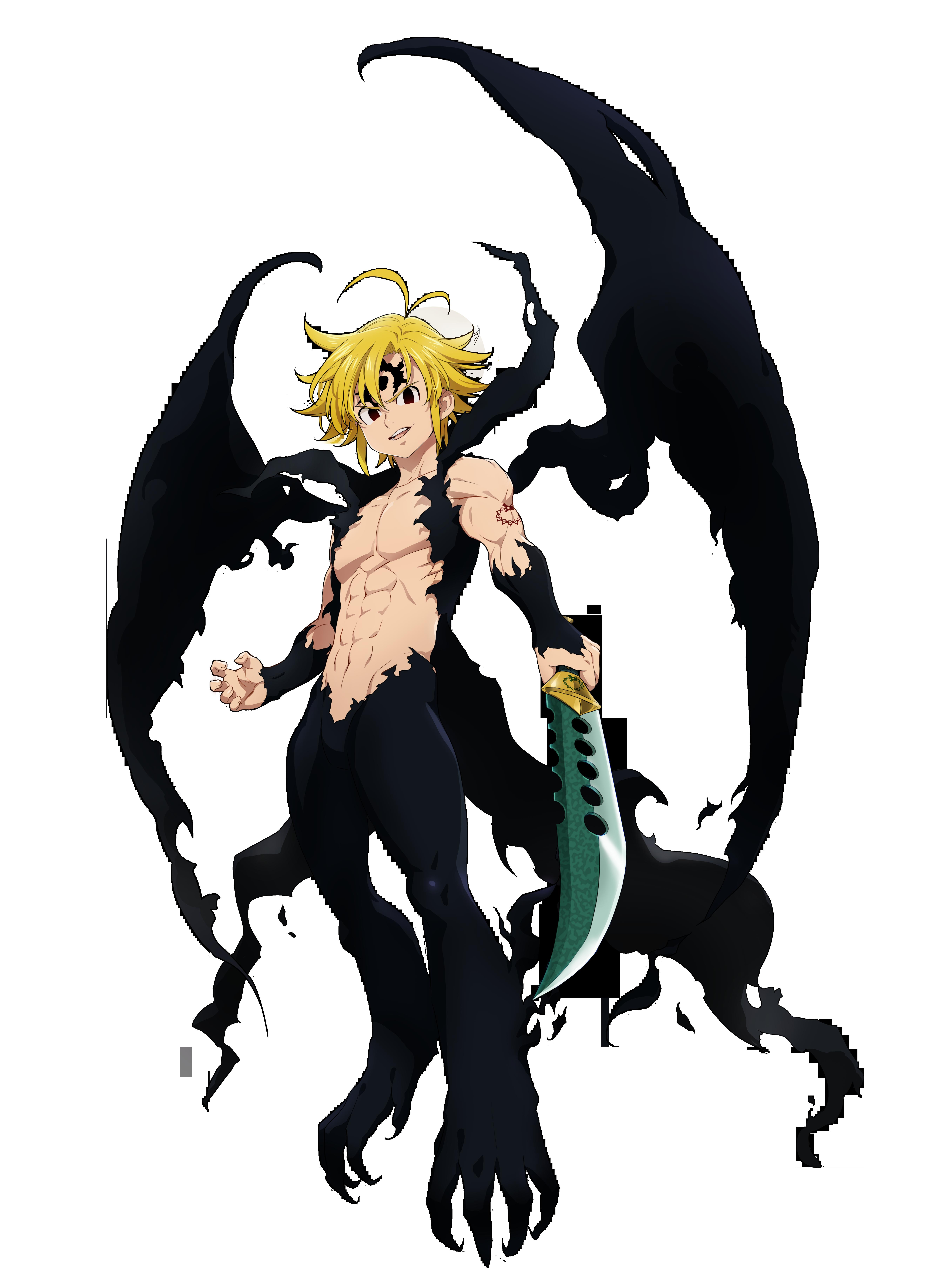 """meliodas demon form Green """"Assault Mode"""" Meliodas  Seven Deadly Sins: Grand Cross"""