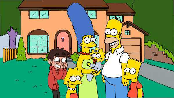 MARCO DIAZ ON THE SIMPSONS