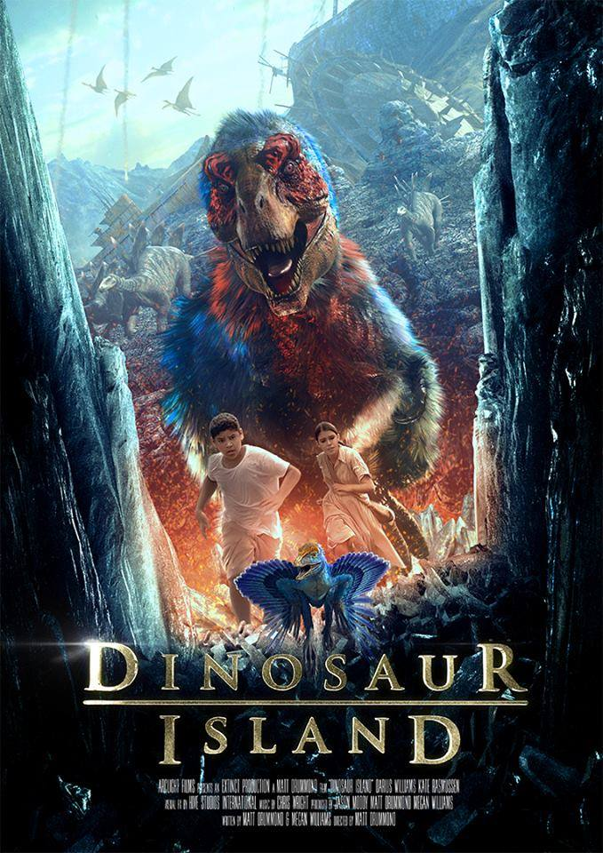 MY MOVIE AND BOOK REVIEWS, THE CASH-INS: PART 3 DINOSAUR ISLAND(2014)