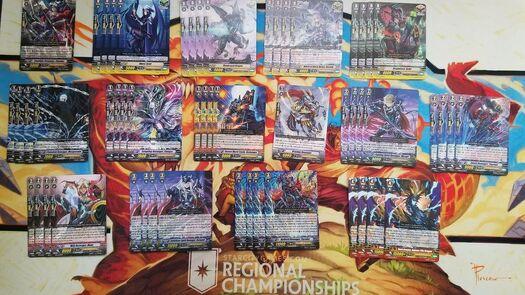 Cardfight Vanguard Shadow Paladin Revengers (Cormack/Peredur) Starter Deck/Lot!   | eBay