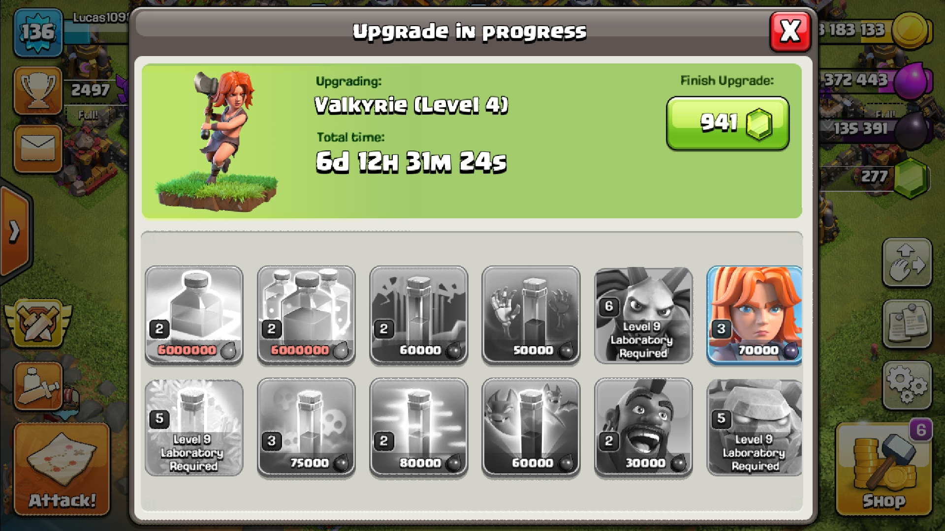 What should I be focusing on upgrading? (Ignore my level 2 Hog rider pls) xd