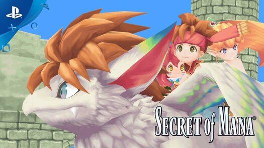 Secret of Mana - Announcement Trailer | PS4, PS VITA