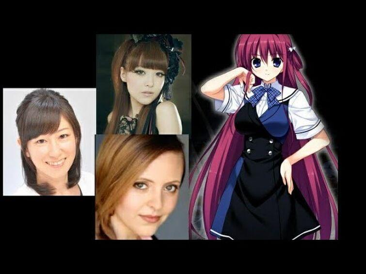 Anime Voice Comparison - Amane Suou (Grisaia)