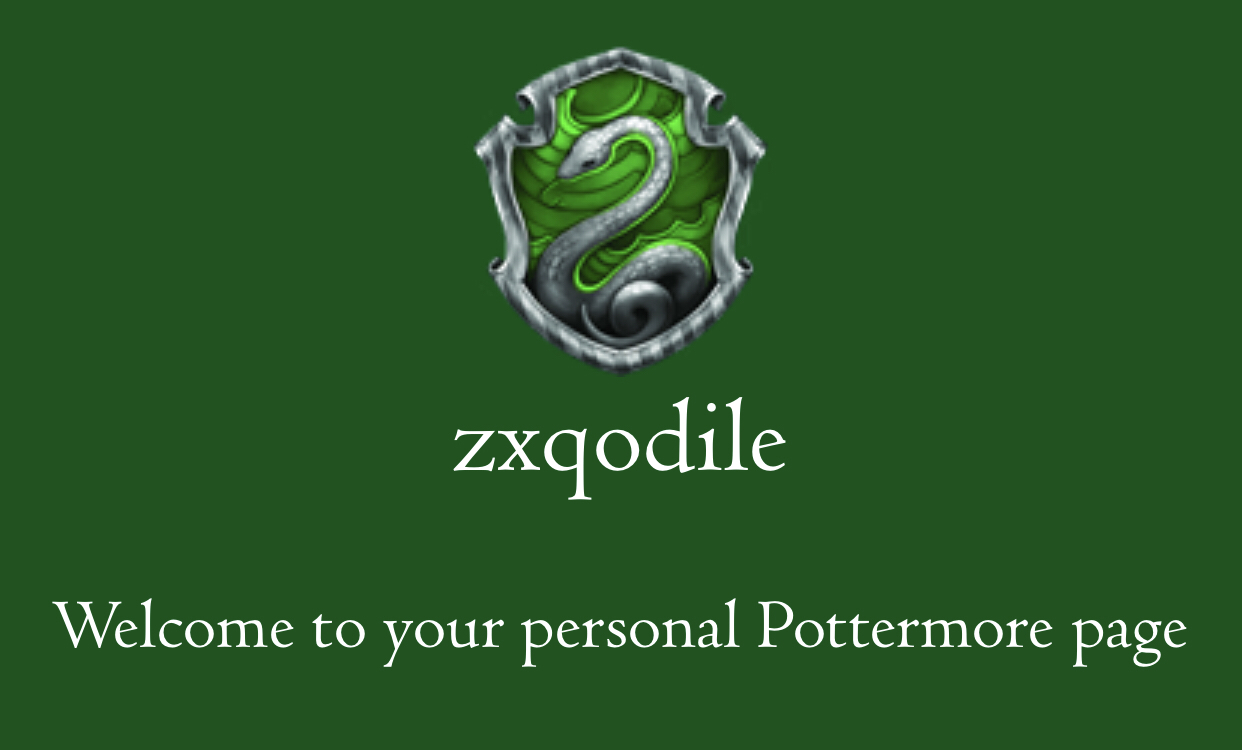 Slytherin💚