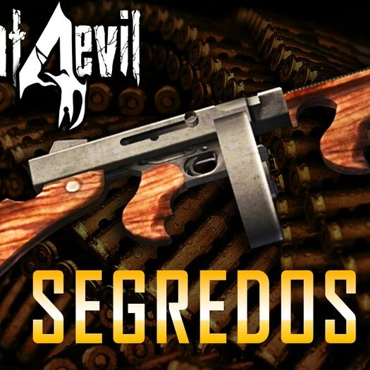 Armas ESPECIAIS: CHICAGO TYPEWRITER Segredos e Teoria - Resident Evil 4