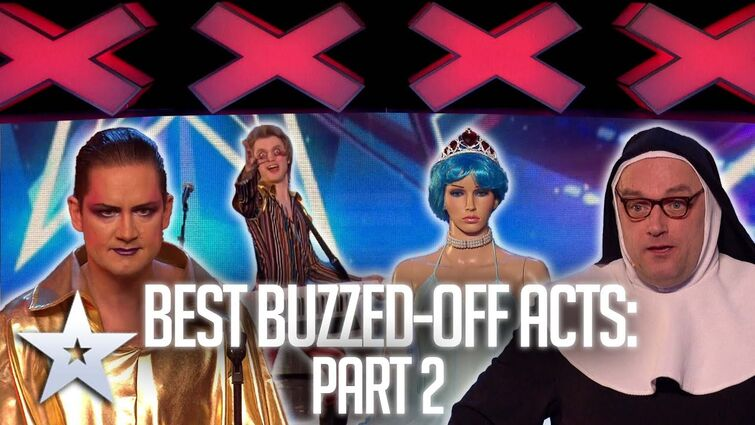 Best BUZZED-OFF acts: Part Two   Auditions   BGT Series 9