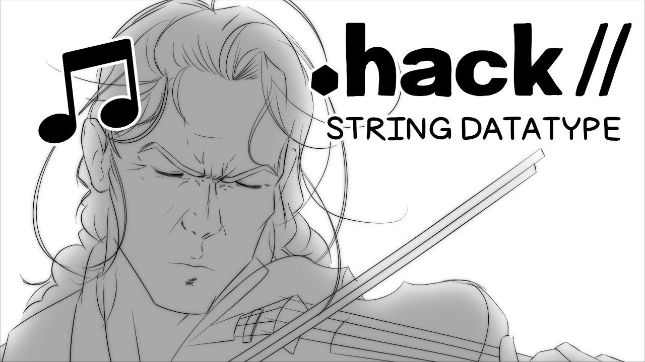 Dot Hack Bowed String Collection //String Datatype