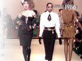 Fashion in 1986