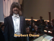Eurovision 1980 Luxembourg Conductor - Norbert Daum
