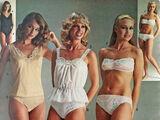 Womens' underwear 1980