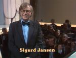 Eurovision 1980 Norway Conductor - Sigurd Jansen