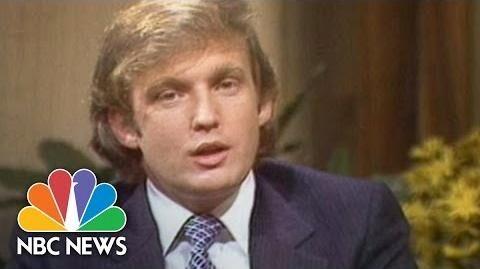 1980s How Donald Trump Created Donald Trump NBC News