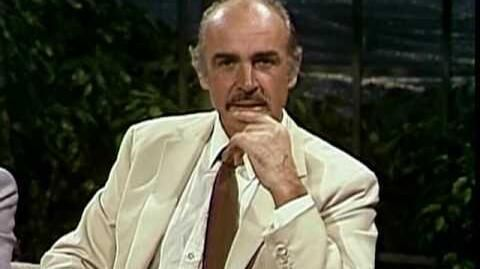 JOHNNY CARSON INTERVIEW SEAN CONNERY Oct 06 1983