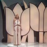 Eurovision 1980 Luxembourg Presenter - Michèle Etzel