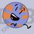 Blue Tennis Ball
