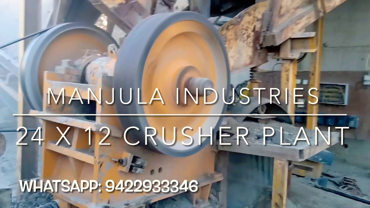 35 TPH (24 x 12) Stone Crusher Plant By Manjula Industries, Beed, Maharashtra (Laxman Stone Cruhser)