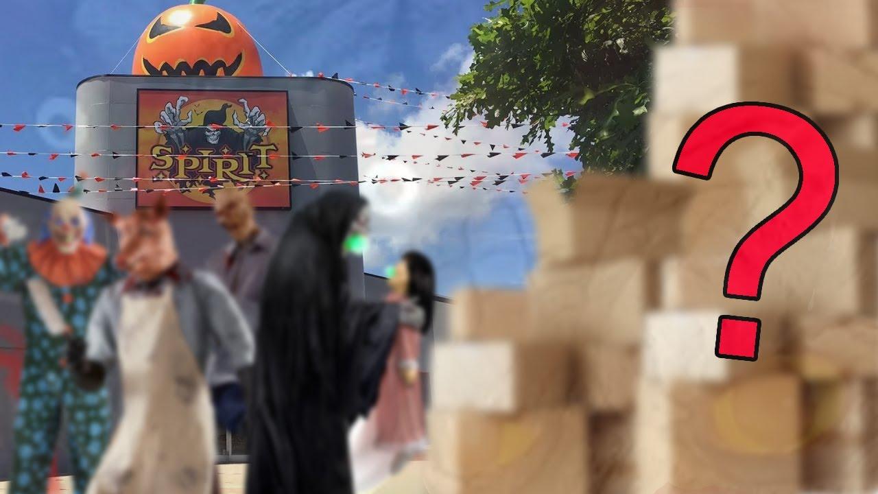 Leaking GIGANTIC Spirit Halloween 2020 Upcoming Surprise... 2020 Secrets REVEALED