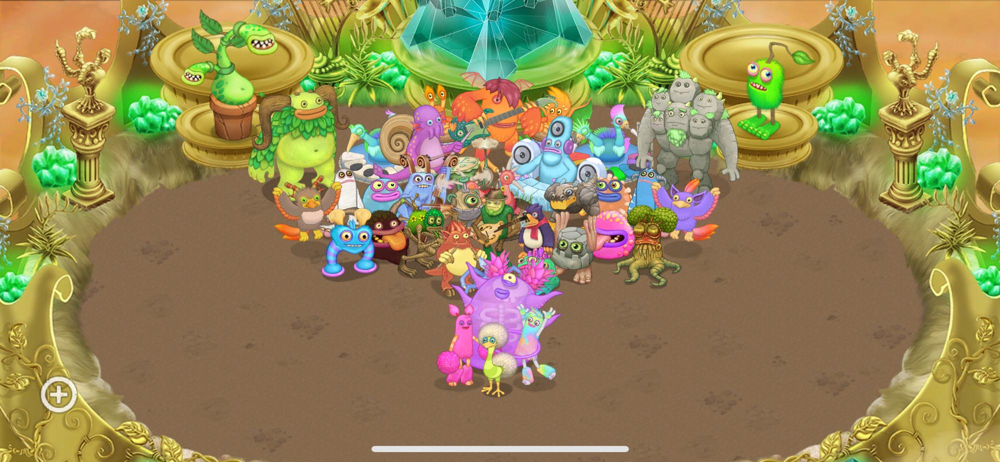 My gold island so far!
