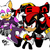 Rouge, Shadow and Omega