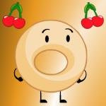 ~Cherry~Filled~Donut~