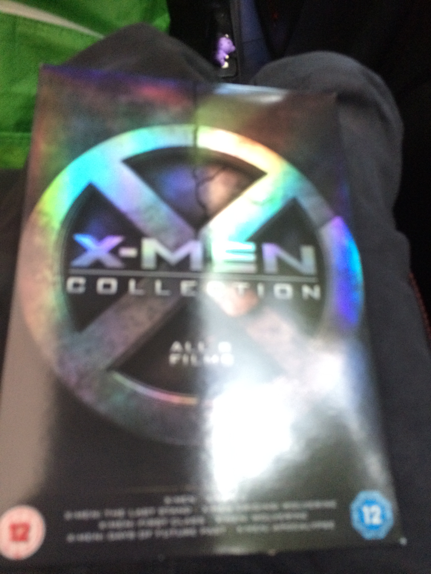 Hi I'm new to this fandom and I just got this box set to watch all the movies