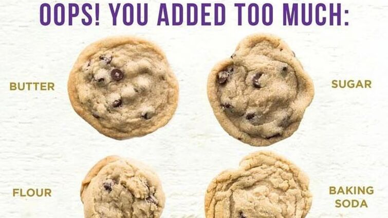 Oops! You added too much: