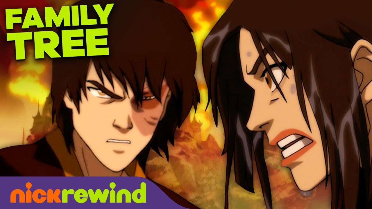 The Zuko Family Tree 🔥🌳 Avatar: The Last Airbender | NickRewind