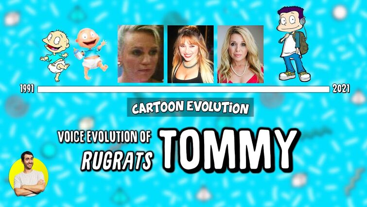 Voice Evolution of TOMMY PICKLES (RUGRATS) - 31 Years Compared & Explained | CARTOON EVOLUTION
