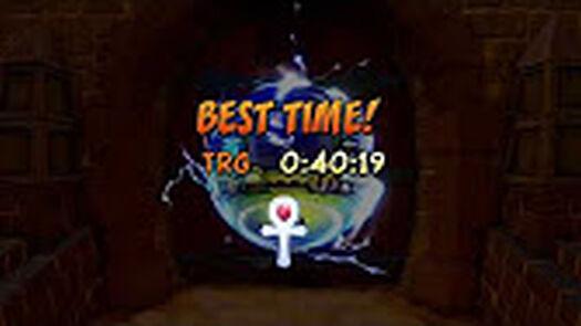 Crash Bandicoot Warped: Platinum Time Trials - YouTube