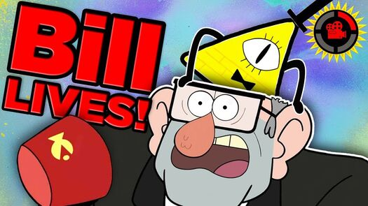 Film Theory: Gravity Falls ISN'T OVER! (Bill Cipher LIVES!)
