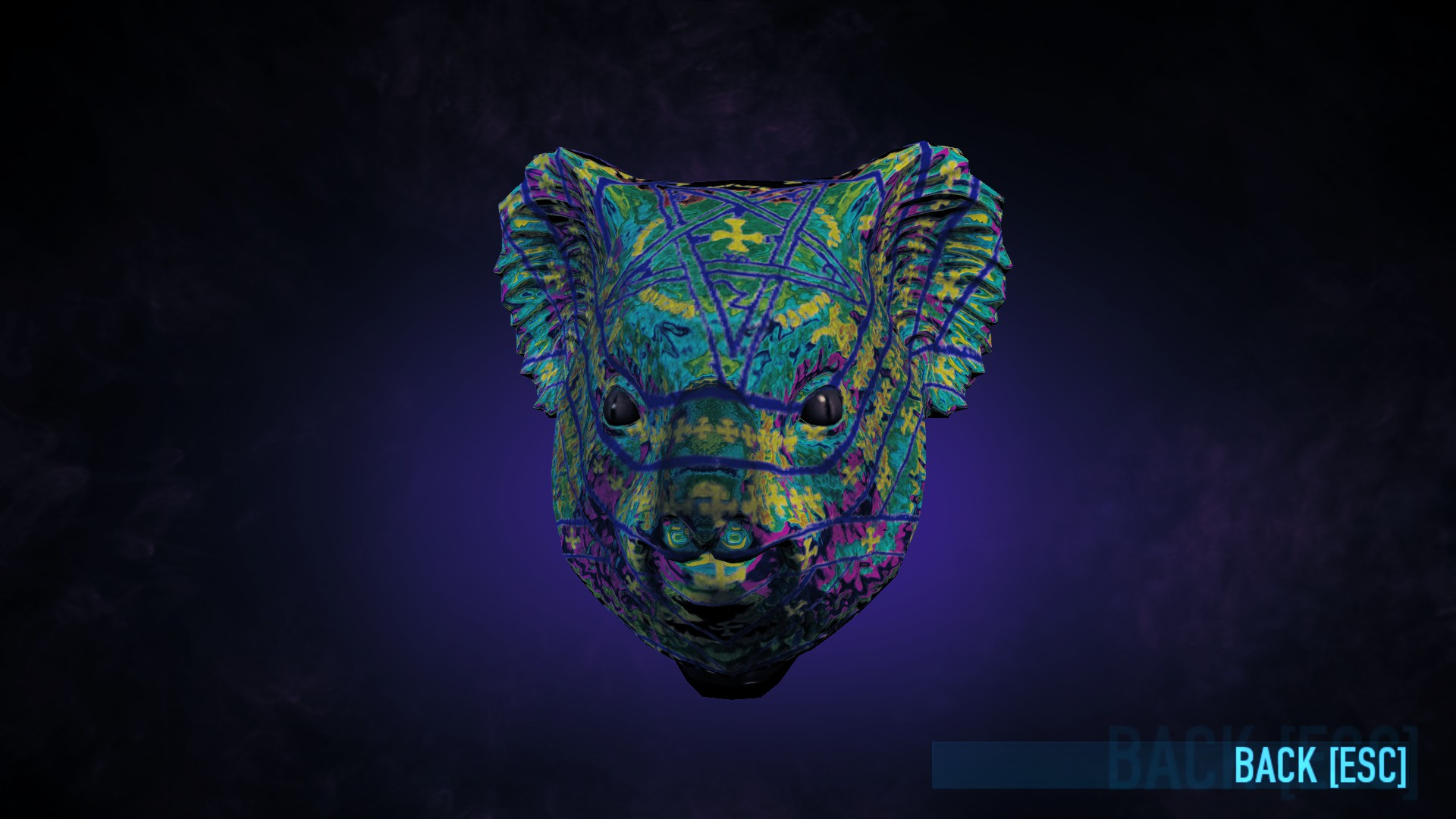 Show me your favorite CUSTOMIZED mask and tell how it is customized.