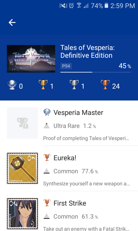 Should i platinum Tales of Vesperia??