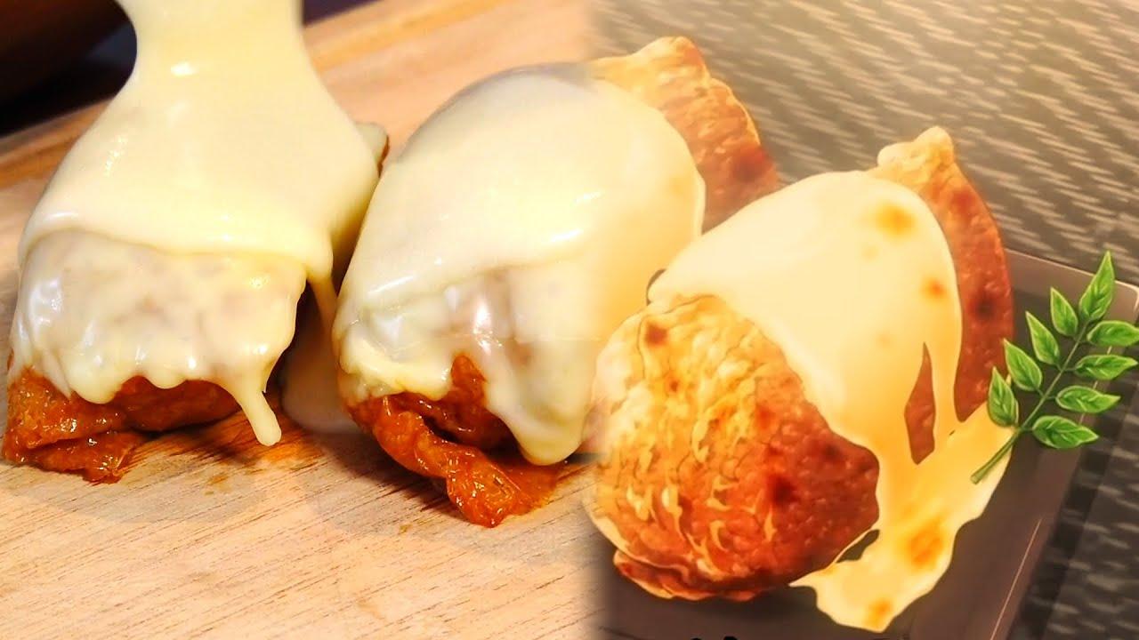 FOOD WARS REAL FOOD Toasted Butter Pilaf Inari Sushi 食戟のソーマ anime food in real life shokugekinosoma