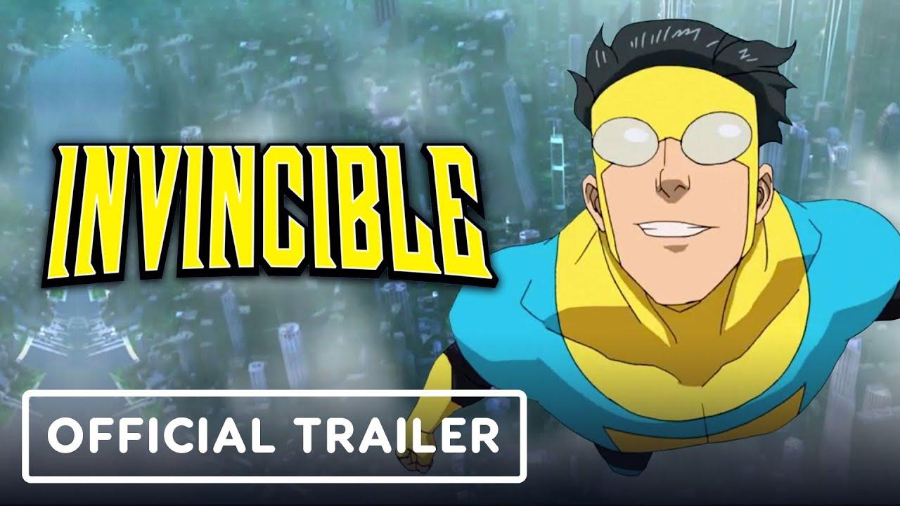 Invincible: Official Teaser Trailer (2021) Steven Yeun, J.K. Simmons | NYCC 2020