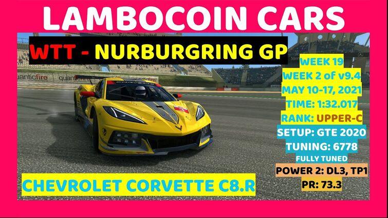 WTT 5/10/21 - Chevrolet Corvette C8.R at Nurburgring GP