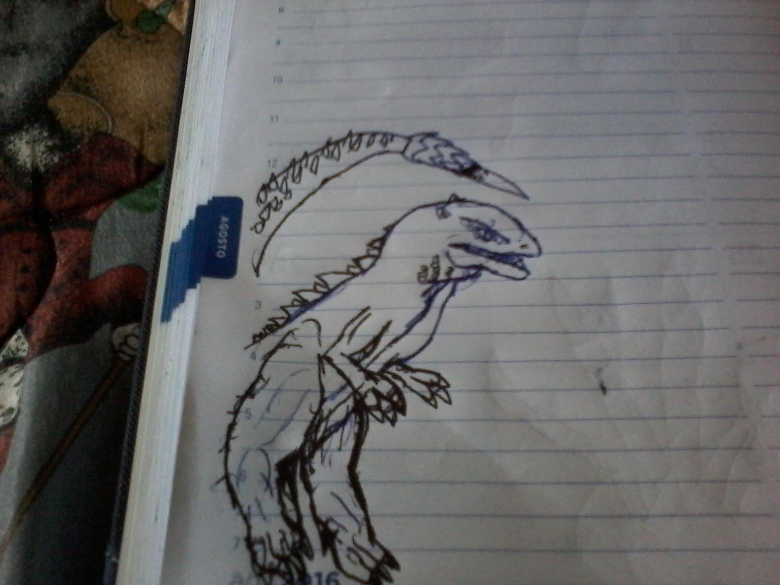 Dibujo de gorosaurus