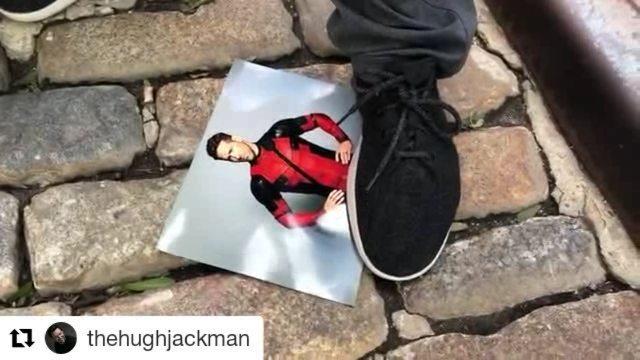 "FANDOM on Instagram: ""This Wolverine x Deadpool movie has potential 💩 (via @thehughjackman)"""