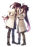 Frederica and Ten-chan (Ryuuou no Oshigoto) by Shirabii