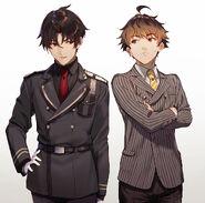 Shin and Yaichi