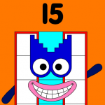 Official numberblock 15