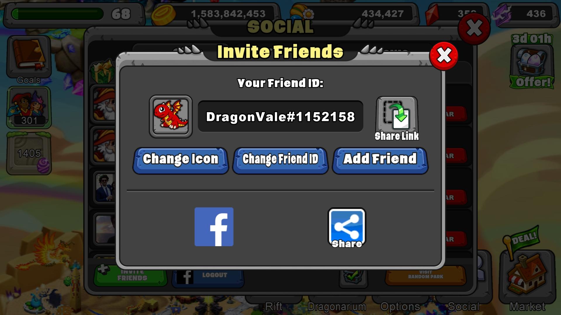 Gems trading friends