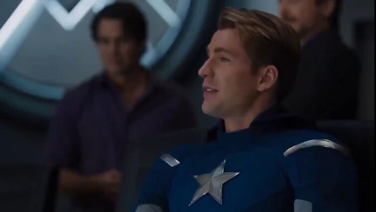 """Captain America - """"I understood that reference"""""""
