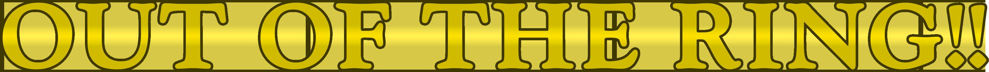 Soul Calibur (1998) In-Game Fonts